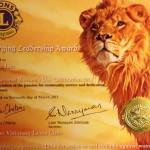 Emerging Leadership Award 2013