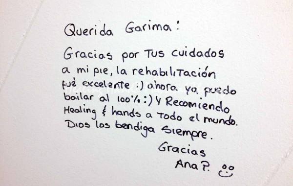 Testimonial: Ana Pita