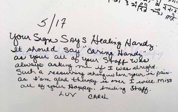 Testimonial: Carol Mullenhard